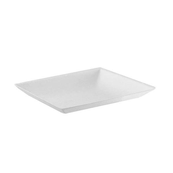"Mini Plate Bagasse 2.5x2.5"" - 200/cs"